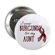 """Wear Burgundy - Aunt 2.25"""" Button (10 pack)"""