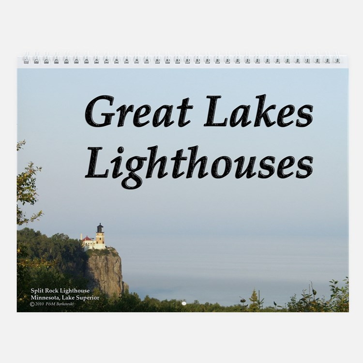 Great Lakes Lighthouse Wall Calendar