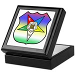 OES Shield Keepsake Box