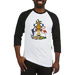 Bahamas Coat of Arms Baseball Jersey