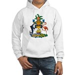Bahamas Coat of Arms Hooded Sweatshirt