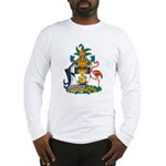 Bahamas Coat of Arms Long Sleeve T-Shirt