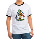Bahamas Coat of Arms Ringer T