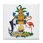 Bahamas Coat of Arms Tile Coaster