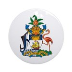 Bahamas Coat of Arms Ornament (Round)