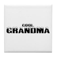 Cool Grandma Tile Coaster