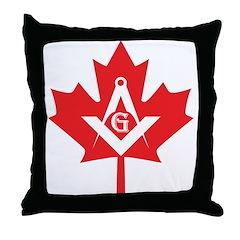 Canadian Mason Throw Pillow