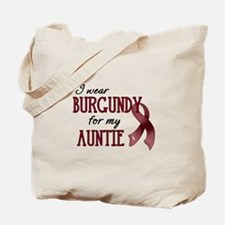 Wear Burgundy - Auntie Tote Bag