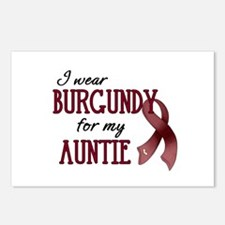 Wear Burgundy - Auntie Postcards (Package of 8)