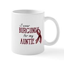 Wear Burgundy - Auntie Mug