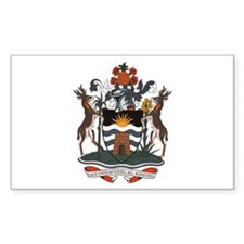 Antigua and Barbuda Rectangle Decal