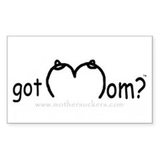 Got Mom? Rectangle Decal