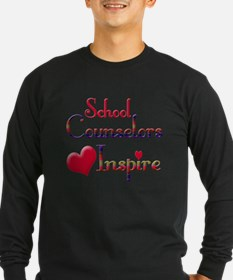 Teachers Inspire counselors Long Sleeve T-Shirt