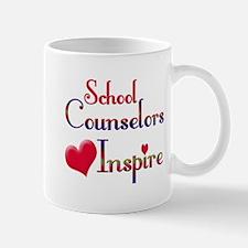 Teachers Inspire counselors Mugs