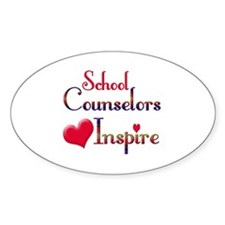 Teachers Inspire counselors Decal