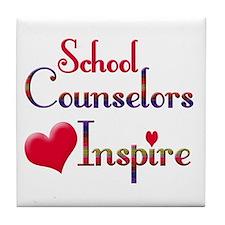 Sixth grade teacher Tile Coaster