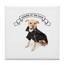 RD Chihuahua Leader Tile Coaster