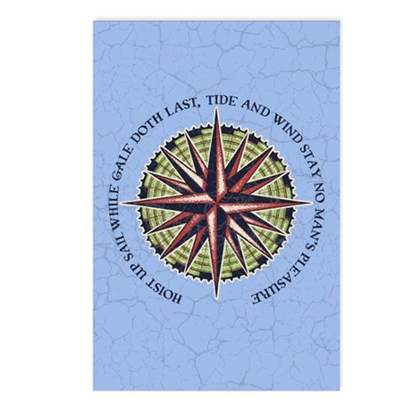 Tide and Wind Postcards (Package of 8)