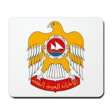 UAE Coat of Arms Mousepad