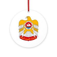 UAE Coat of Arms Ornament (Round)