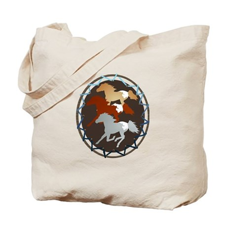 Sheild and Appy Horses Tote Bag