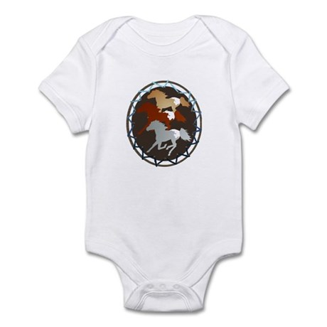 Sheild and Appy Horses Infant Bodysuit