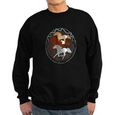Sheild and Appy Horses Sweatshirt