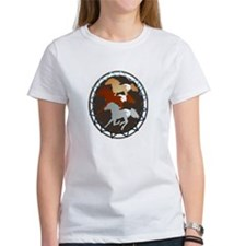 Sheild and Appy Horses Tee