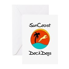 SunCoast DockDogs Logo Greeting Cards (Pk of 10)