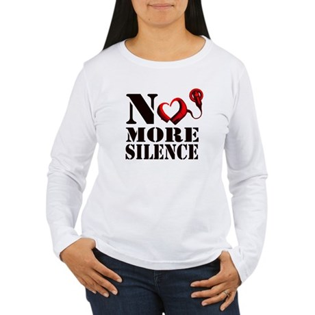 No More Silence Women's Long Sleeve T-Shirt