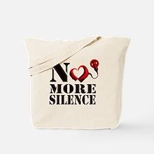 No More Silence Tote Bag