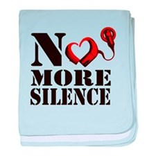 No More Silence Infant Blanket