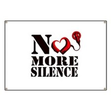 No More Silence Banner