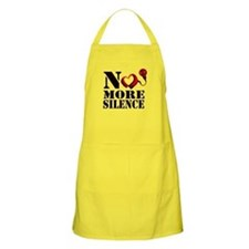 No More Silence Apron