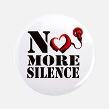 "No More Silence 3.5"" Button"