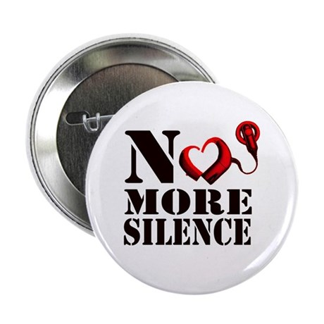 "No More Silence 2.25"" Button"