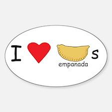 I love empanadas! Decal