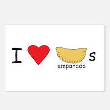I love empanadas! Postcards (Package of 8)