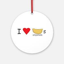 I love empanadas! Ornament (Round)