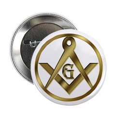Masonic Circle Button 2.25