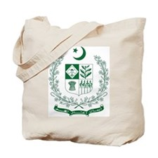 Pakistan Coat of Arms Tote Bag
