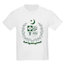 Pakistan Coat of Arms Kids T-Shirt