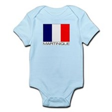 """Martinique Flag"" Infant Creeper"