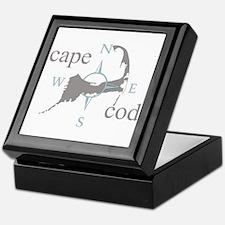 Cape Cod Compass Keepsake Box