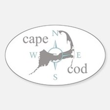 Cape Cod Compass Decal