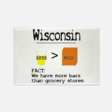 more bars then grocery stores Magnets
