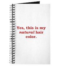 Natural Redhead Journal