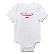 Natural Redhead Infant Bodysuit