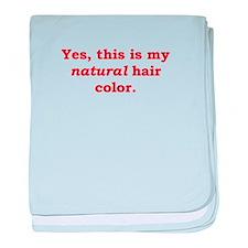 Natural Redhead Infant Blanket