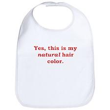 Natural Redhead Bib